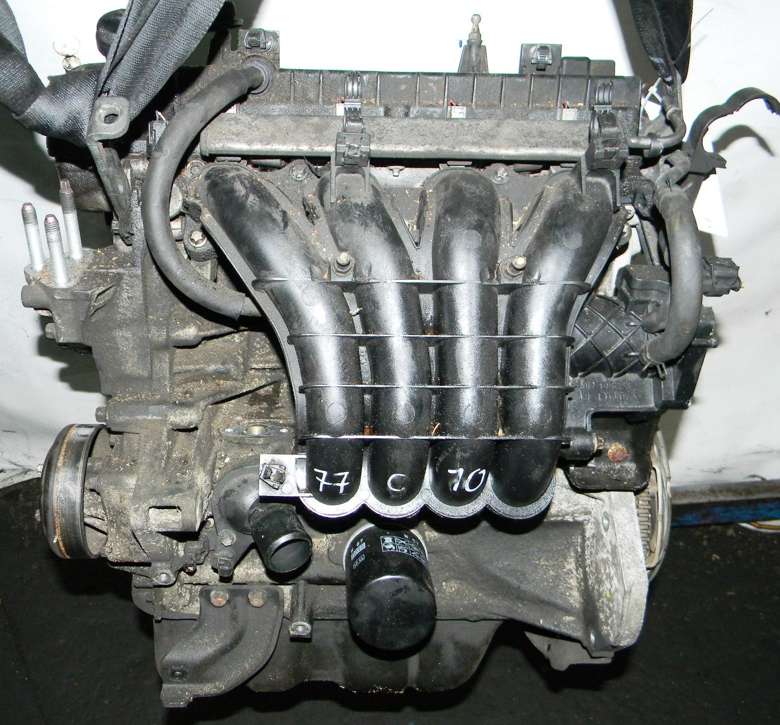 Двигатель бензиновый, MITSUBISHI, LANCER 10, 2010