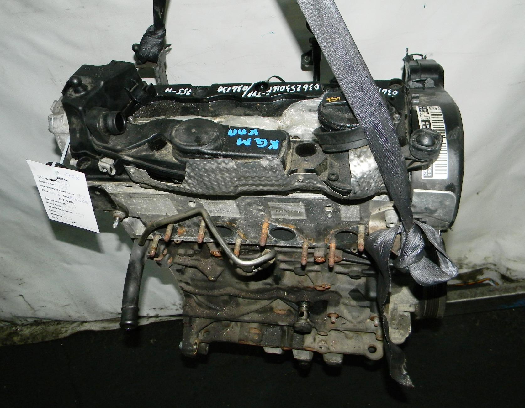 Двигатель дизельный, VOLKSWAGEN, GOLF 6, 2009