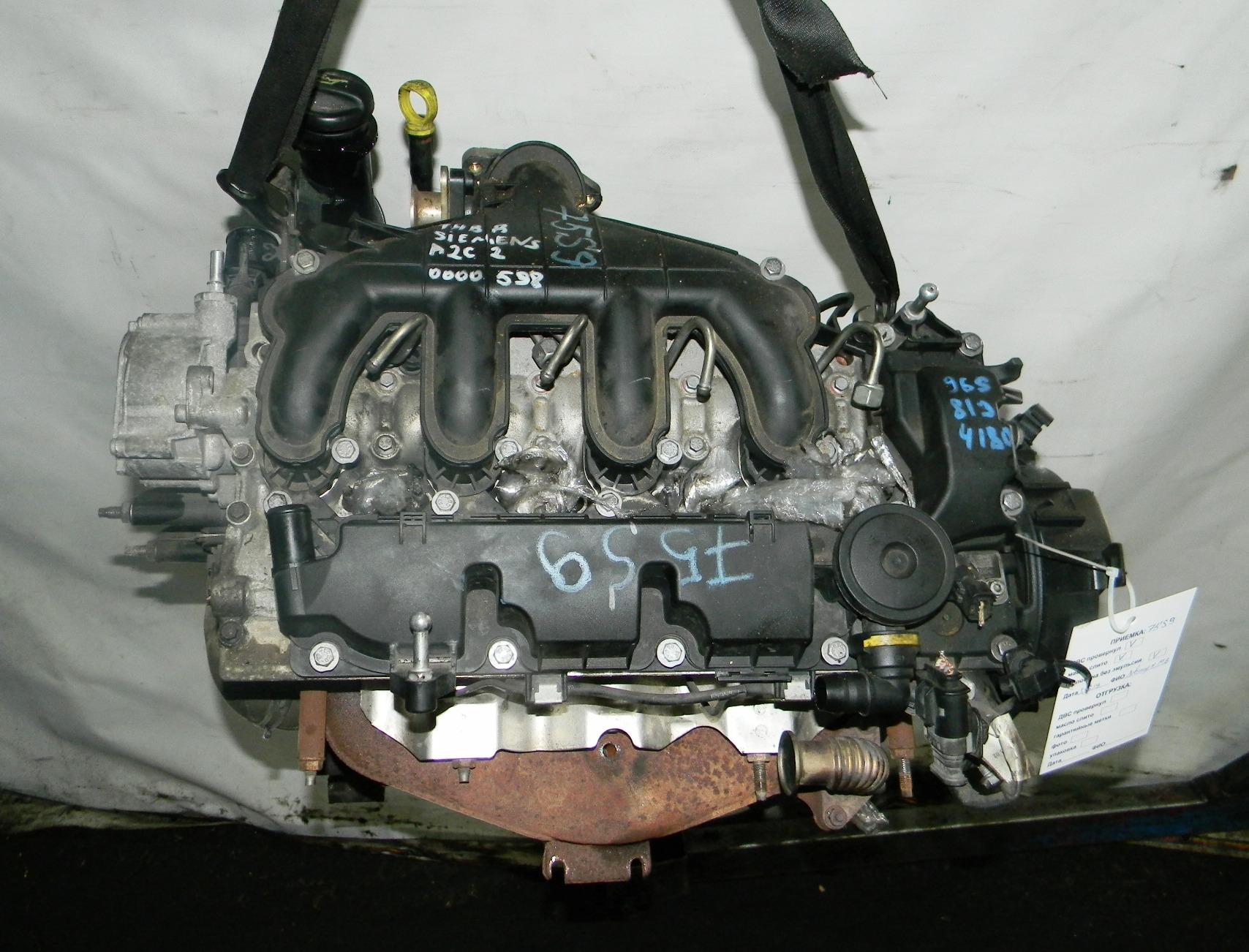 Двигатель дизельный, CITROEN, C4 GRAND PICASSO 1, 2007