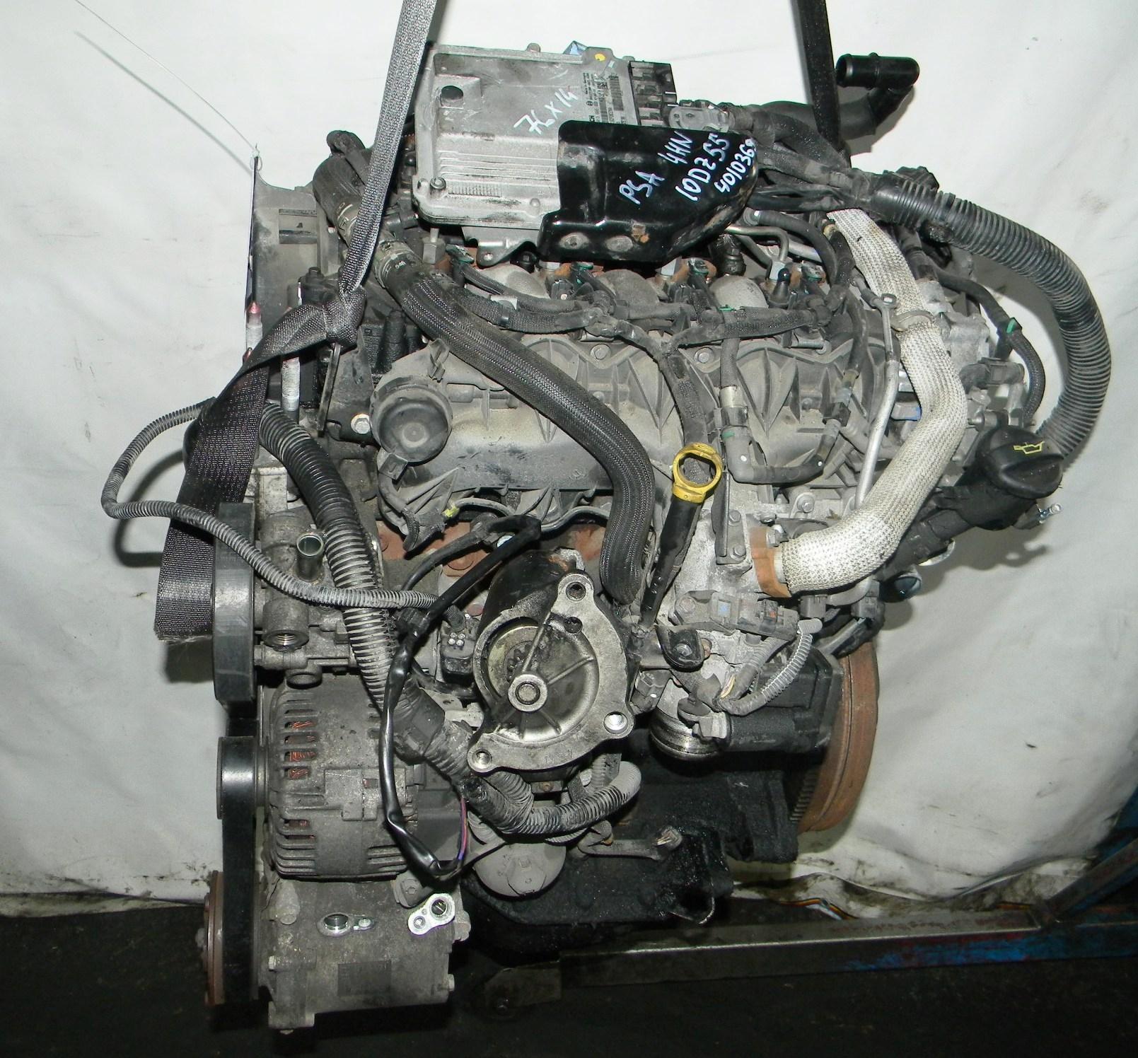 Двигатель дизельный, CITROEN, C-CROSSER, 2010