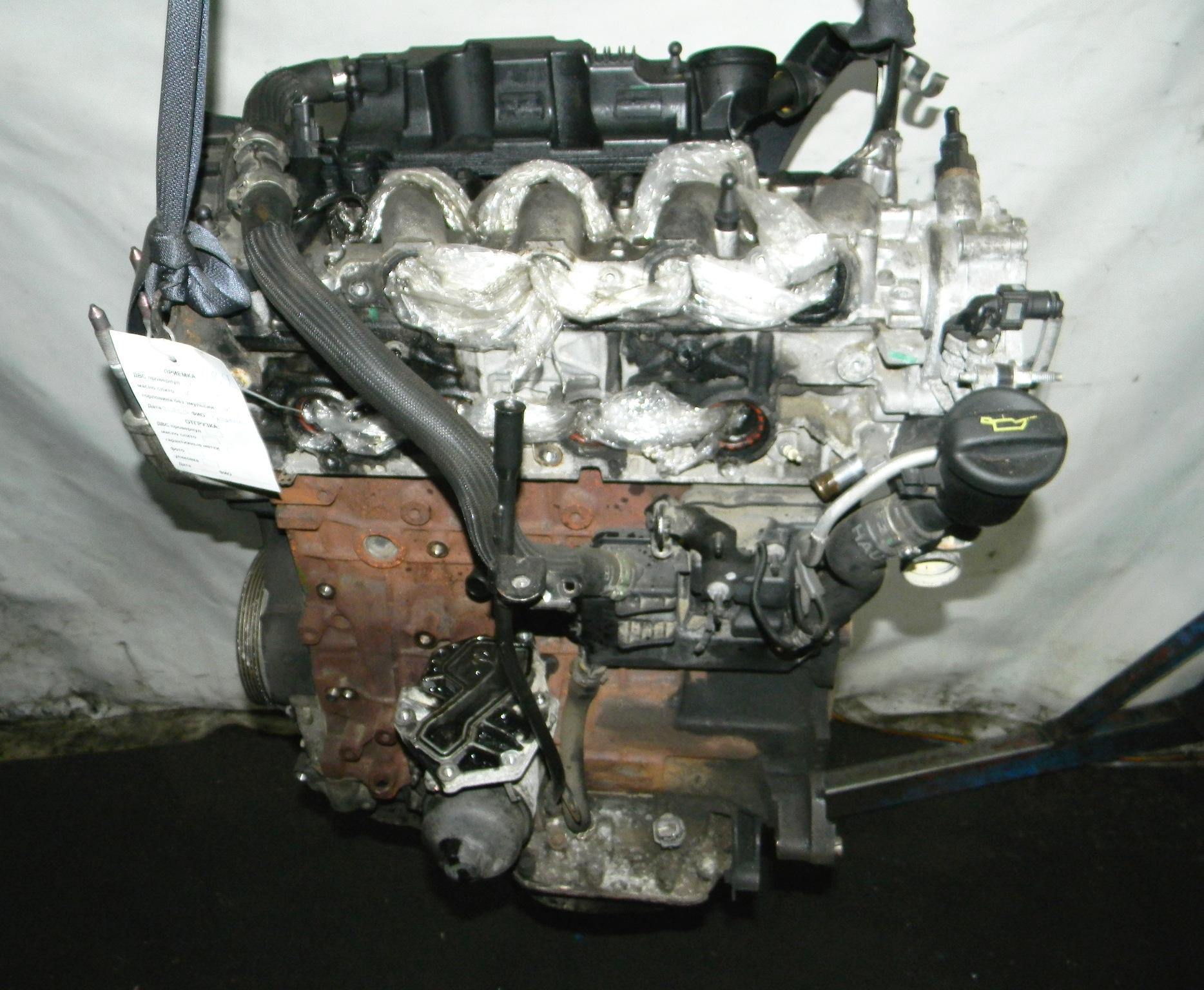 Двигатель дизельный, PEUGEOT, 4007, 2008