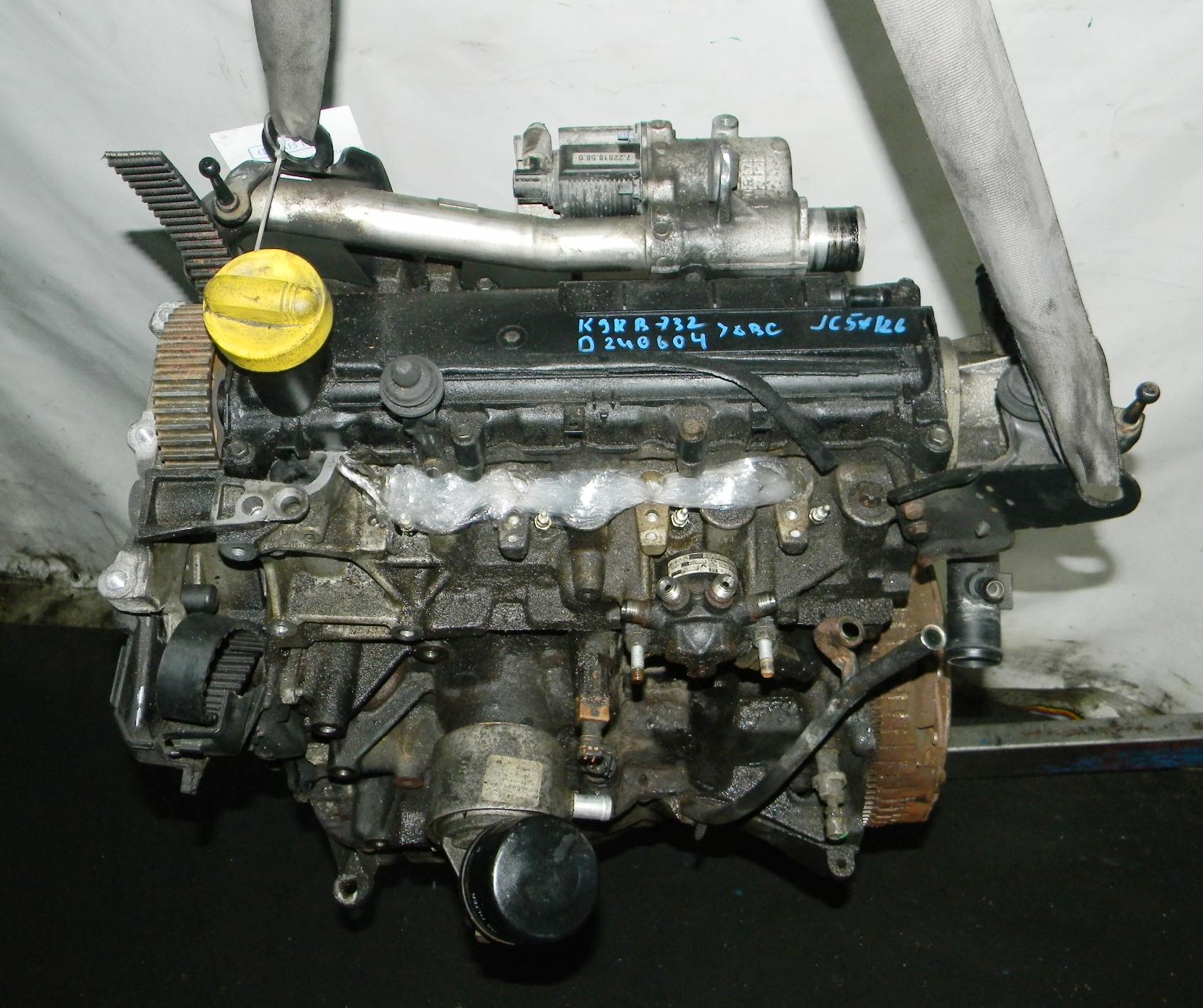 Двигатель дизельный, RENAULT, KANGOO 1, 2004
