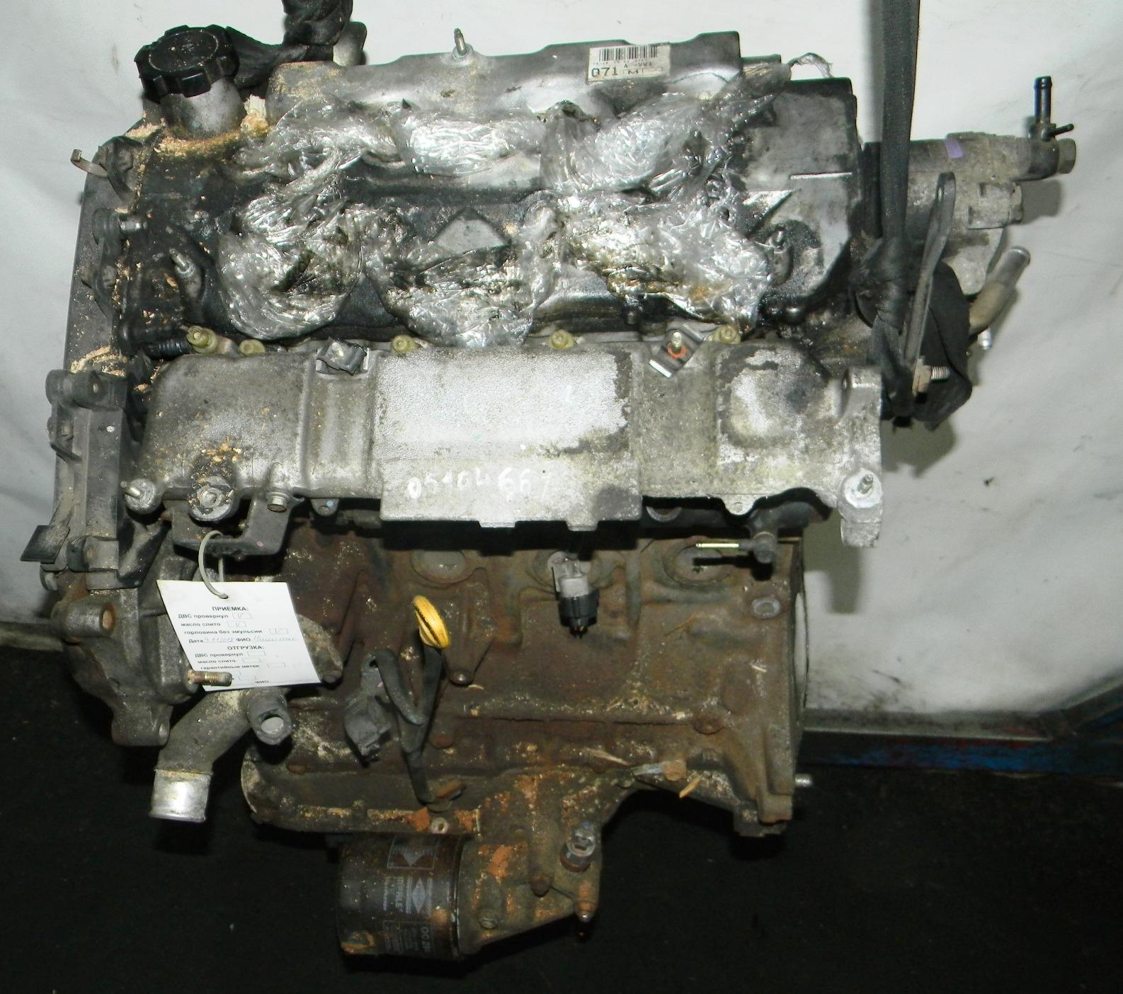 Двигатель дизельный, TOYOTA, RAV 4 ZCA2, 2005
