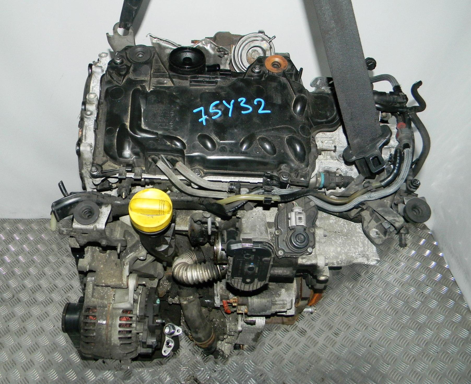 Двигатель дизельный, RENAULT, MEGANE 2, 2007