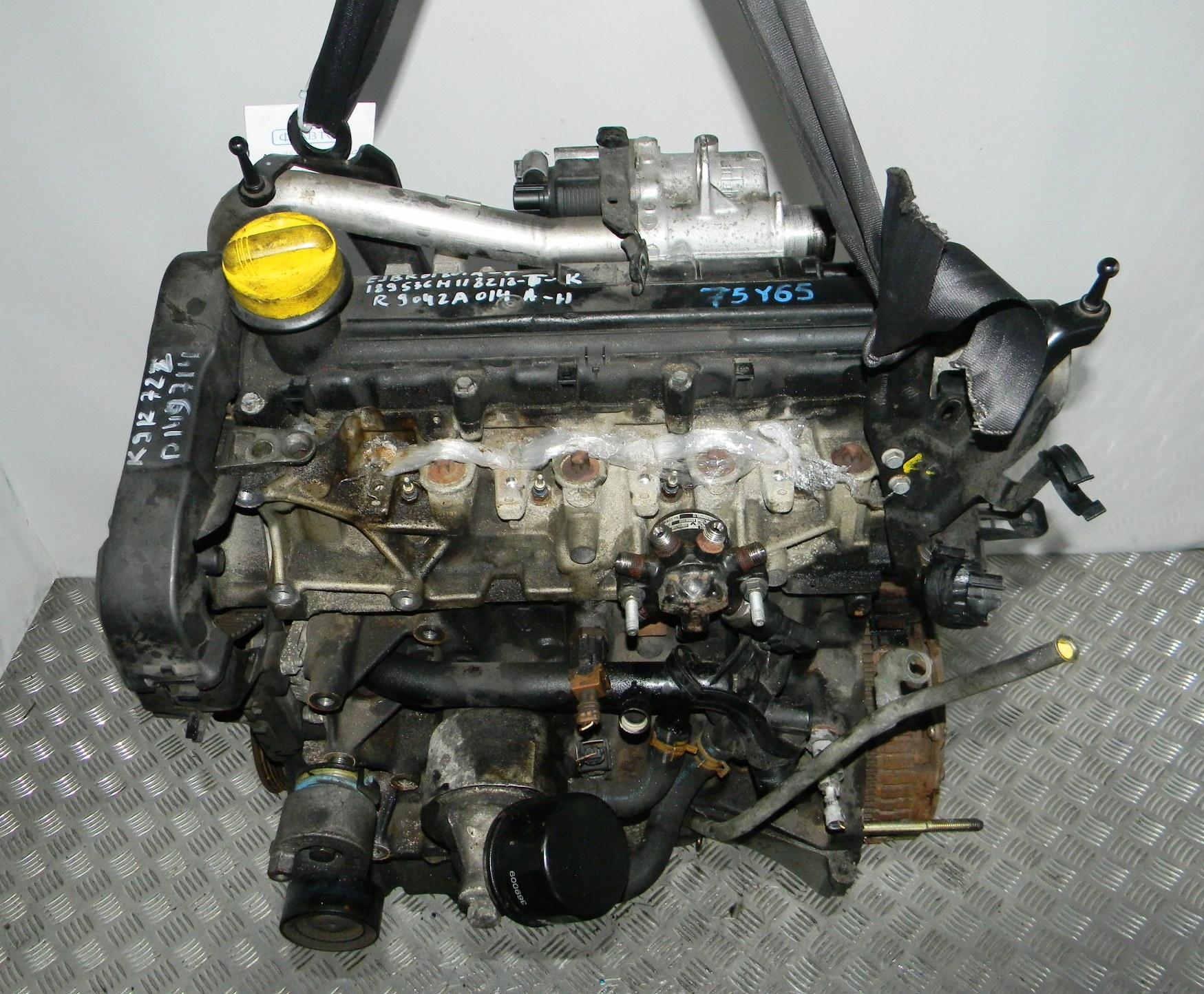 Двигатель дизельный, RENAULT, MEGANE 2, 2006