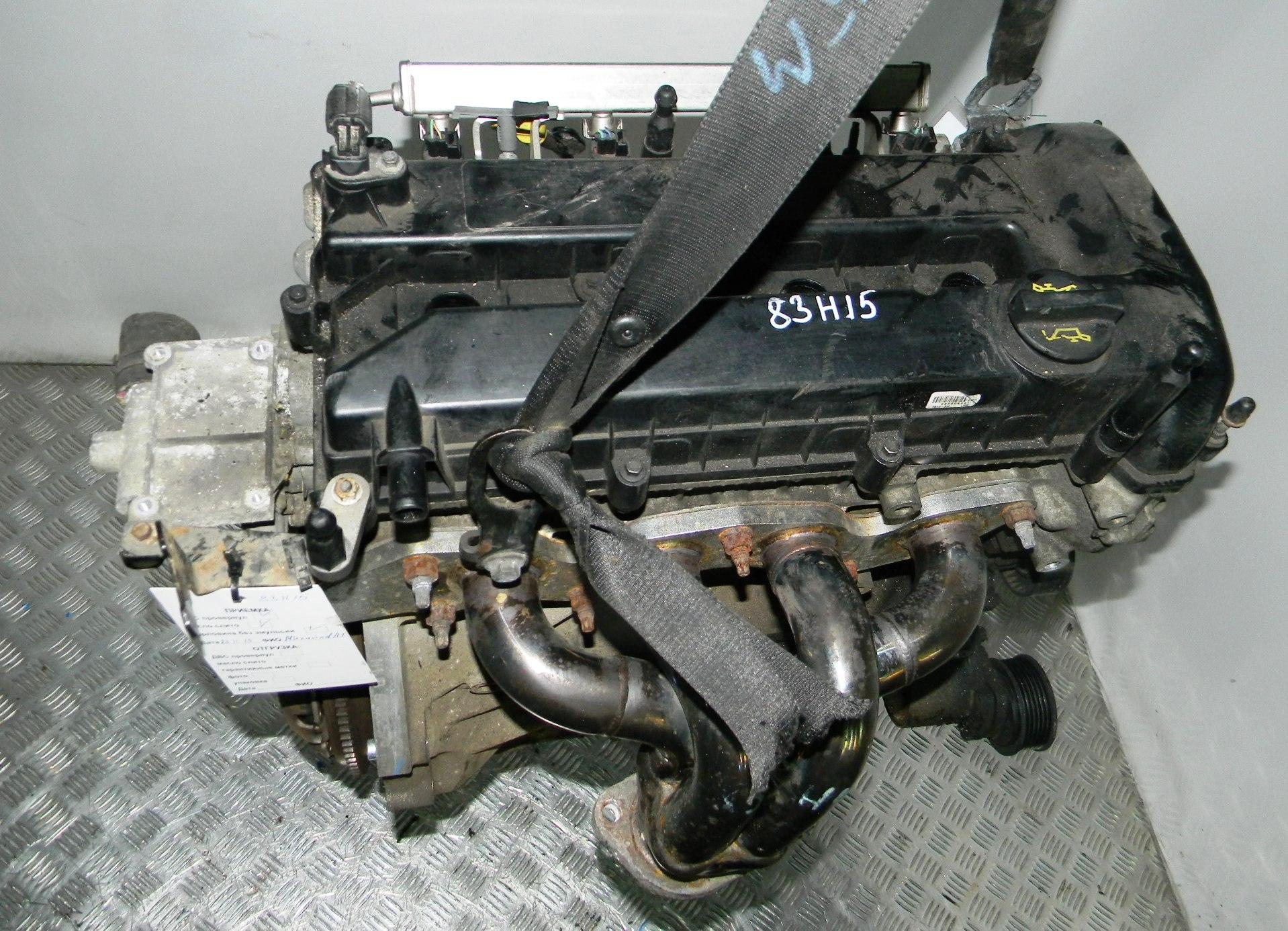 Двигатель бензиновый, FORD, FIESTA 5, 2006