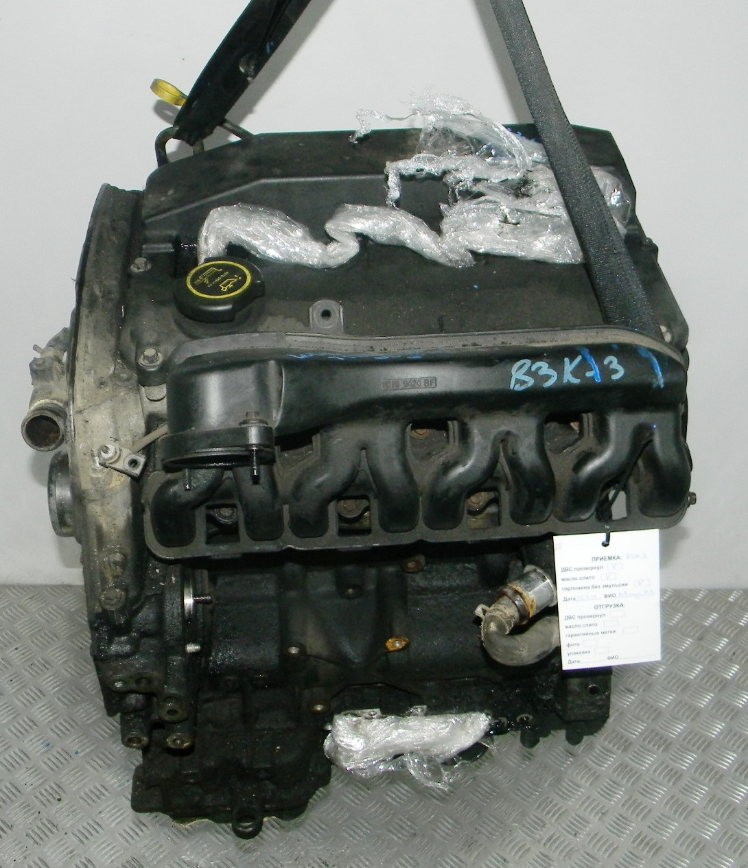 Двигатель дизельный, FORD, TRANSIT 6 SPARKA, 2001