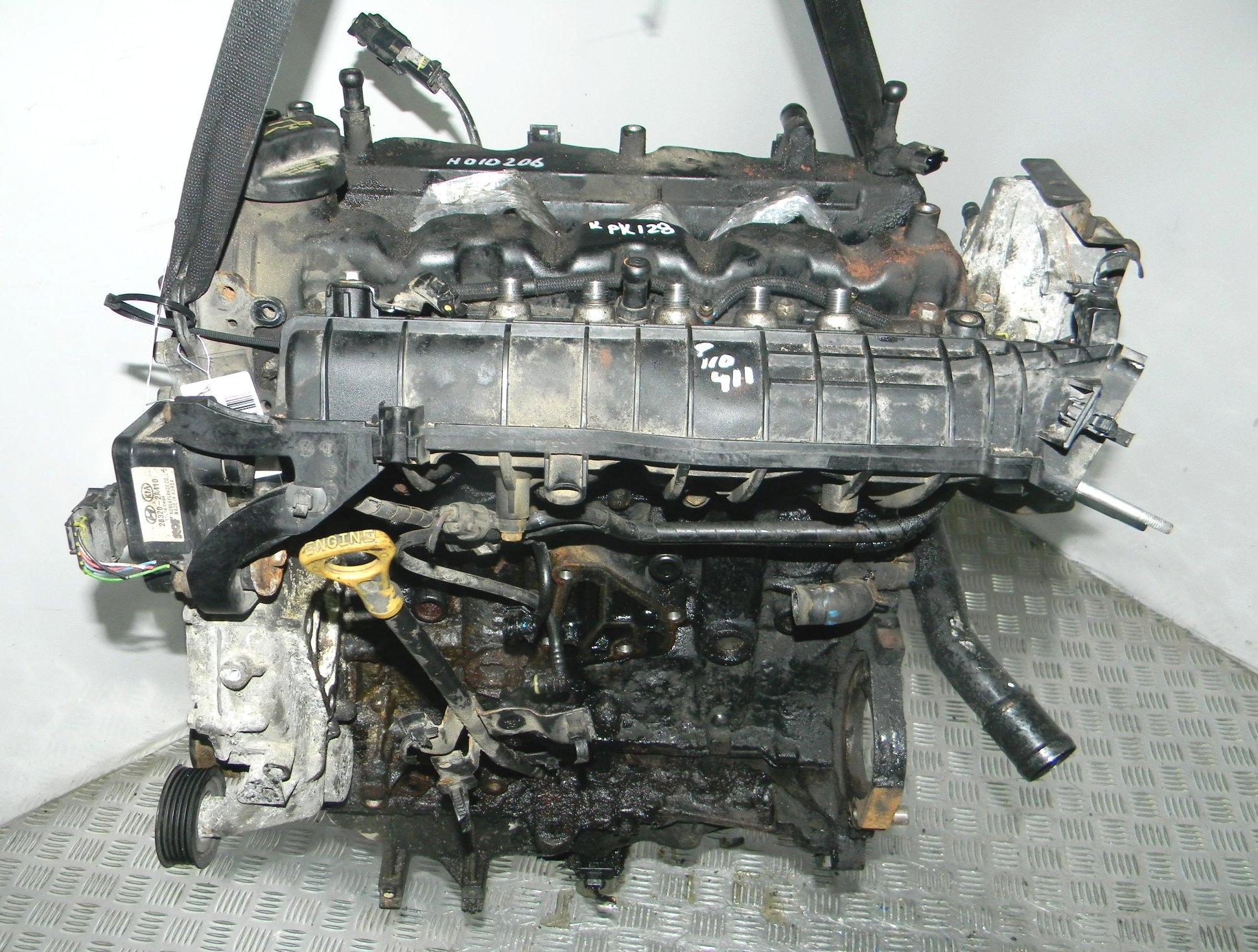 Двигатель дизельный, HYUNDAI, IX35 1, 2012