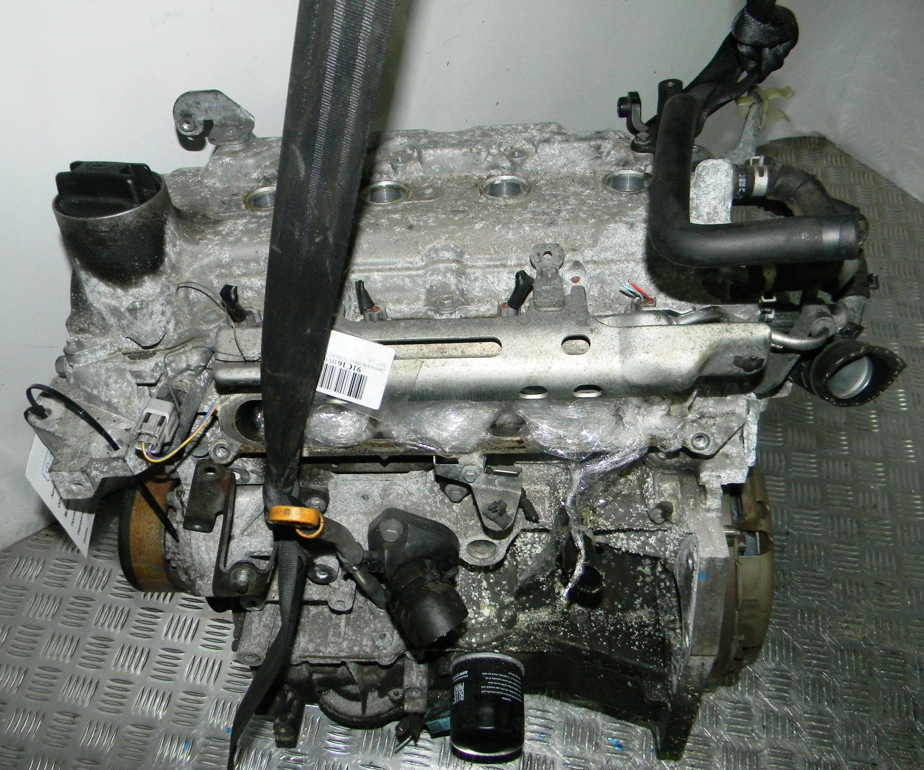 Двигатель бензиновый, NISSAN, QASHQAI J10, 2007