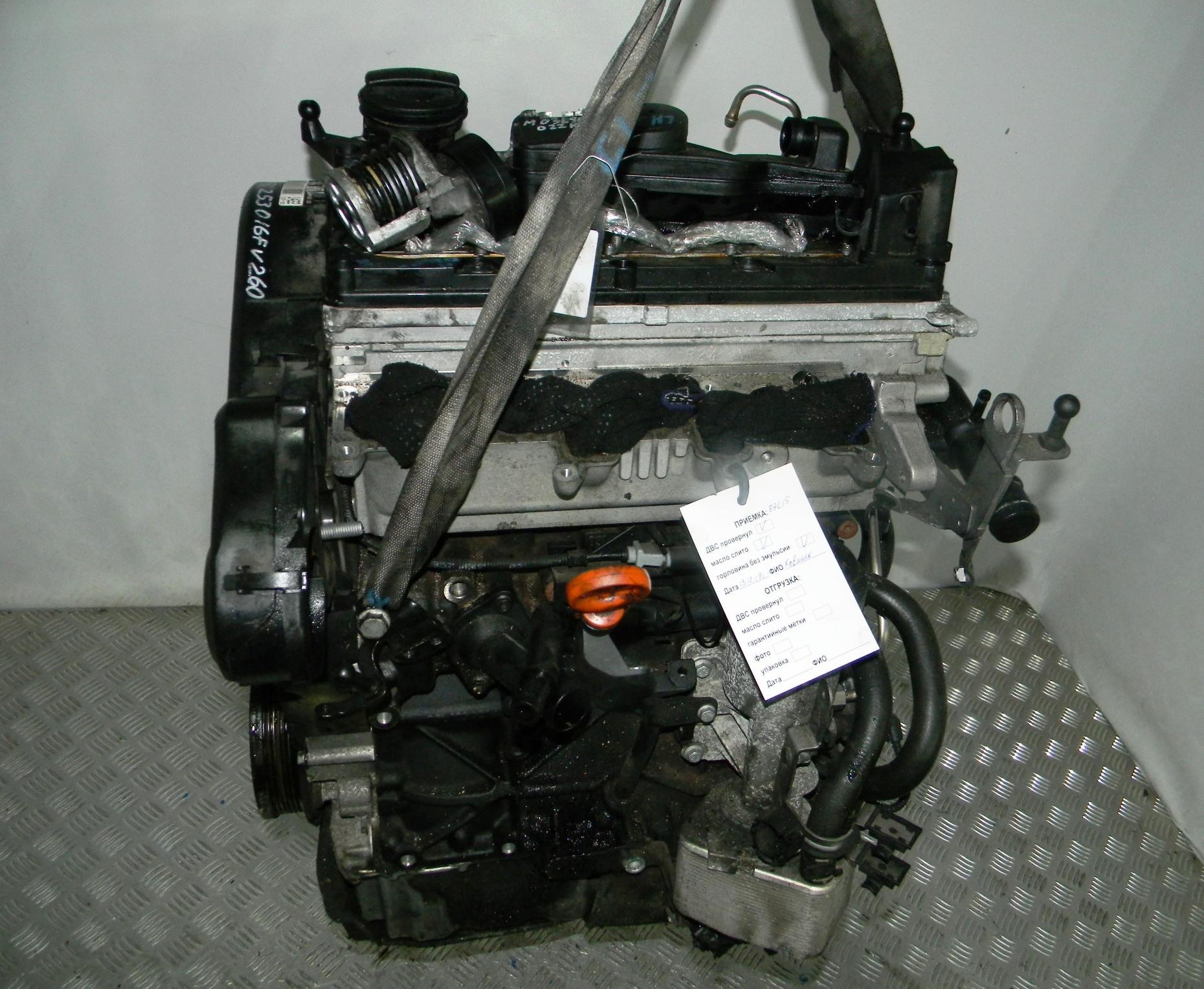 Двигатель дизельный, VOLKSWAGEN, SCIROCCO 3RD, 2009