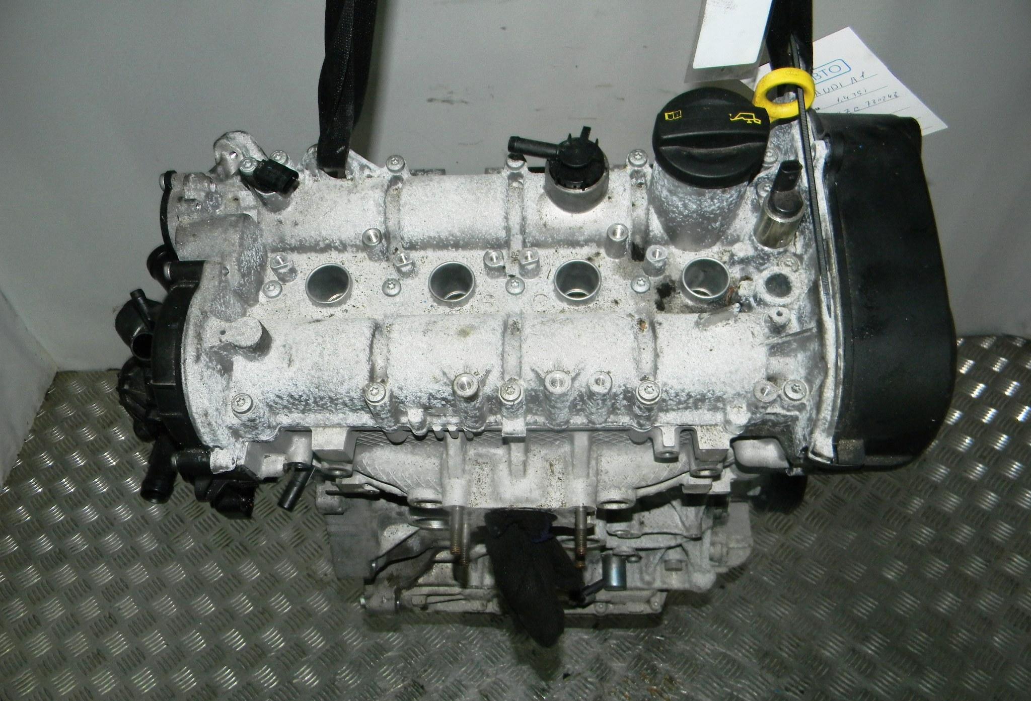 Двигатель бензиновый, AUDI, A1 8X, 2014