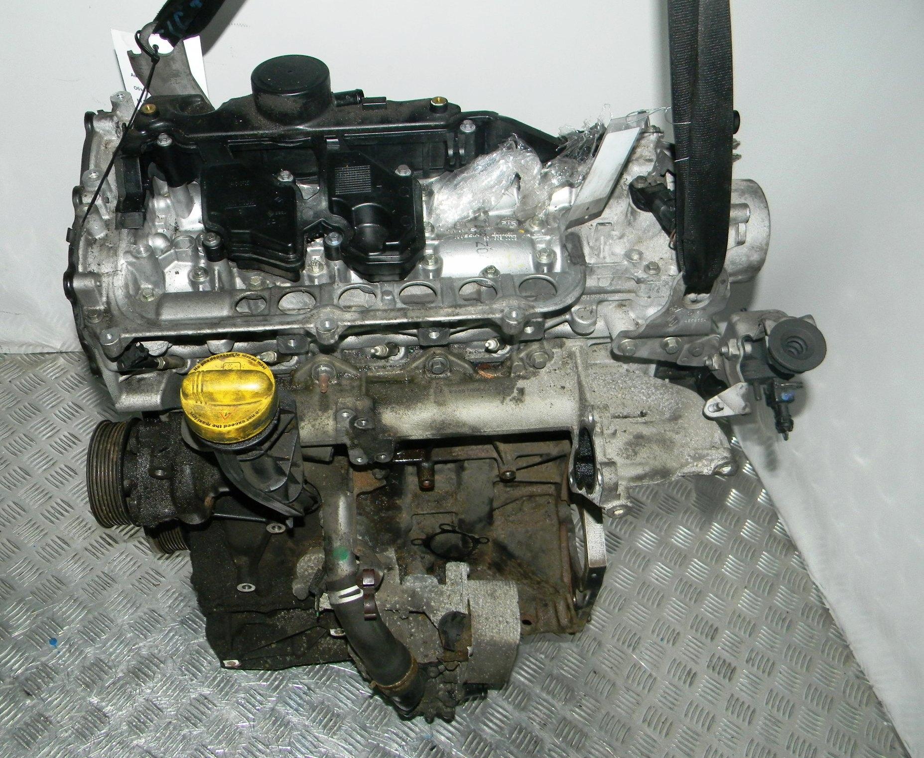 Двигатель дизельный, RENAULT, LAGUNA 3, 2008
