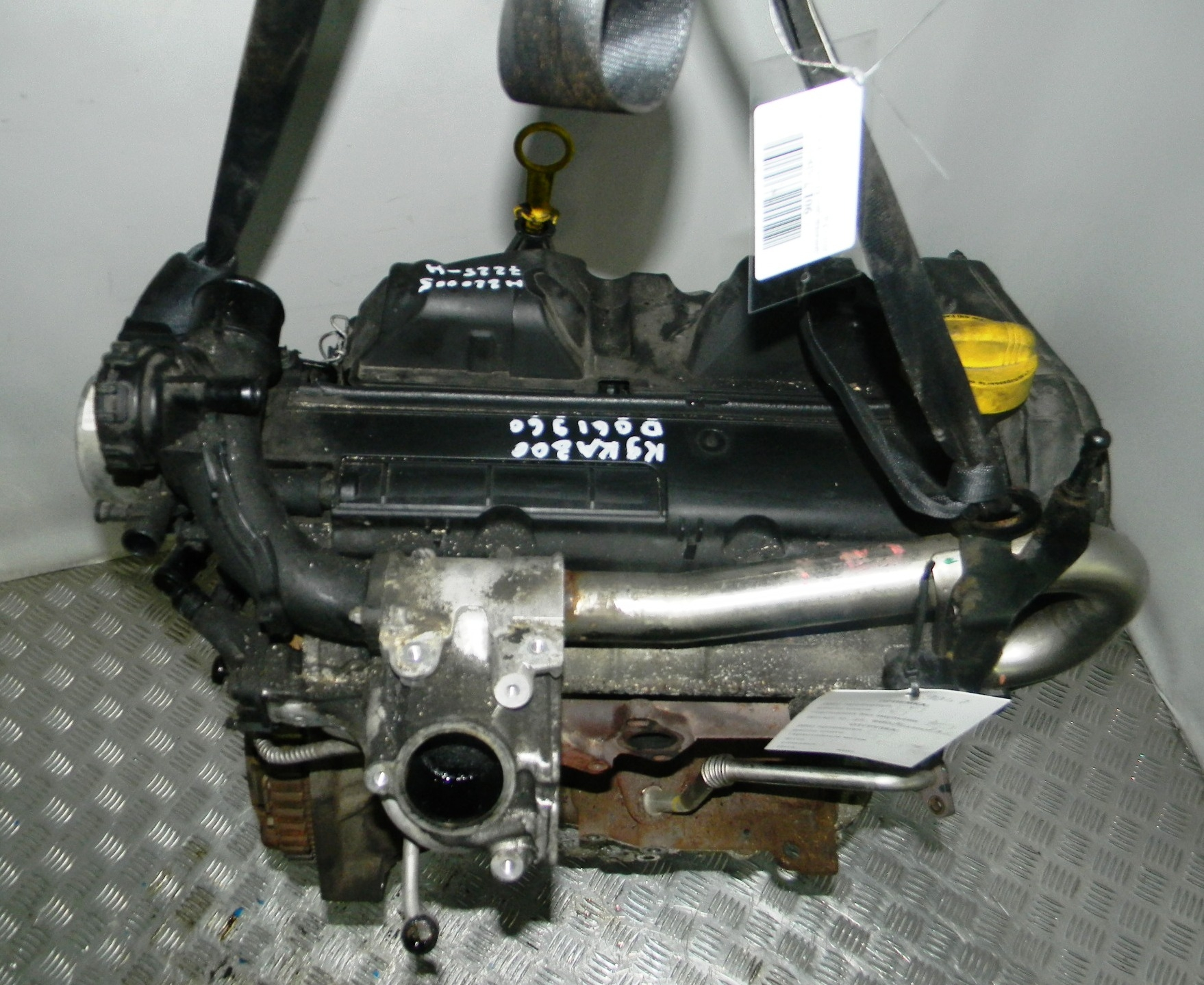 Двигатель дизельный, RENAULT, KANGOO 2, 2010