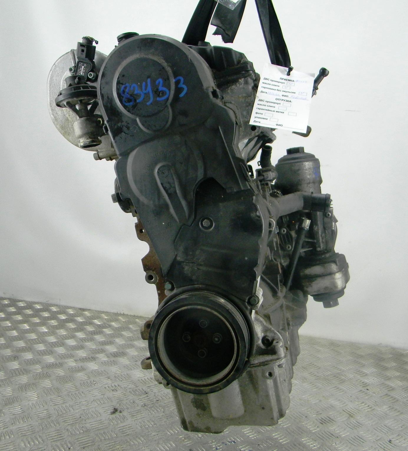Двигатель дизельный, VOLKSWAGEN, GOLF 5, 2006