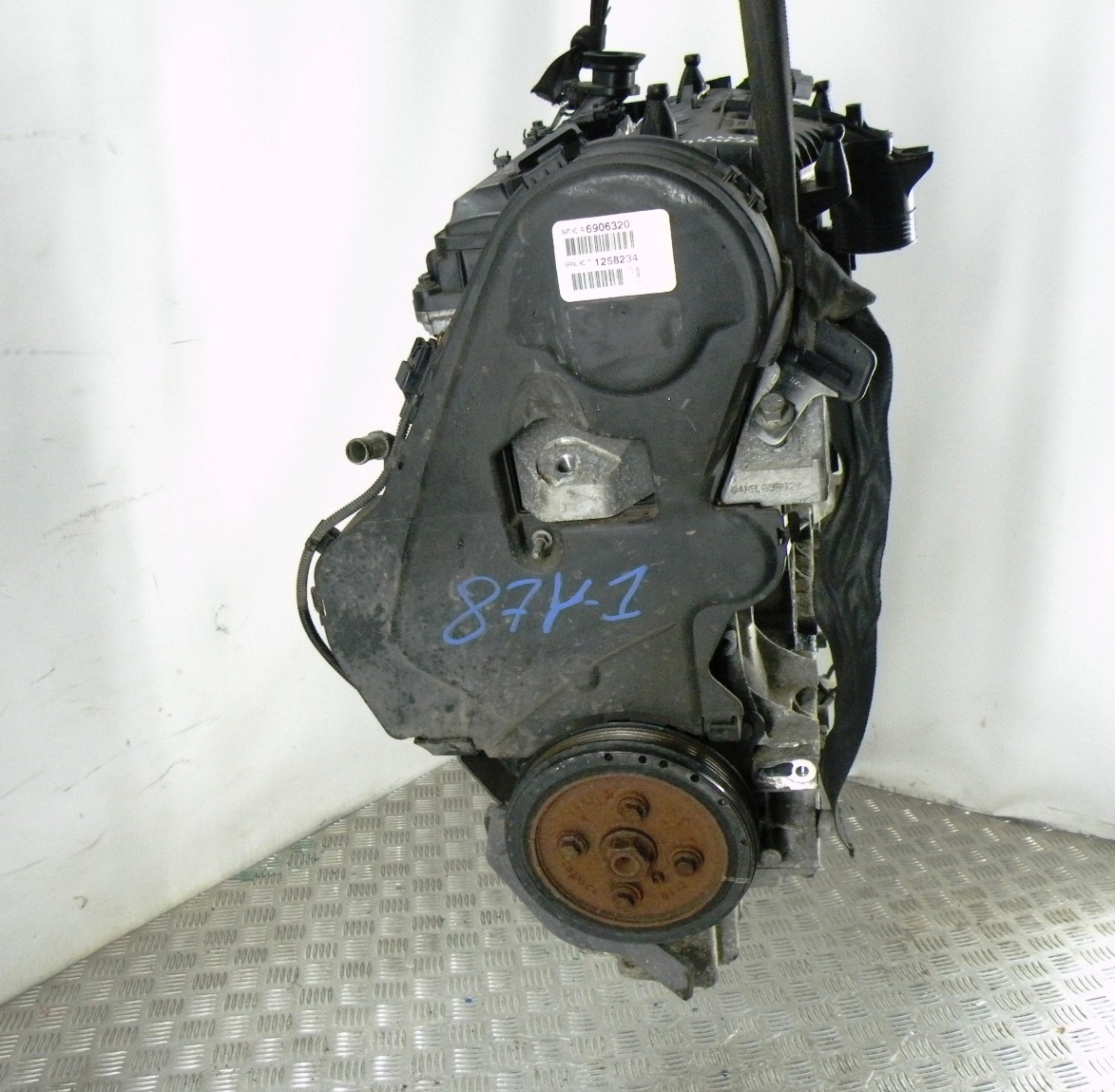Двигатель дизельный, VOLVO, V60 1, 2013