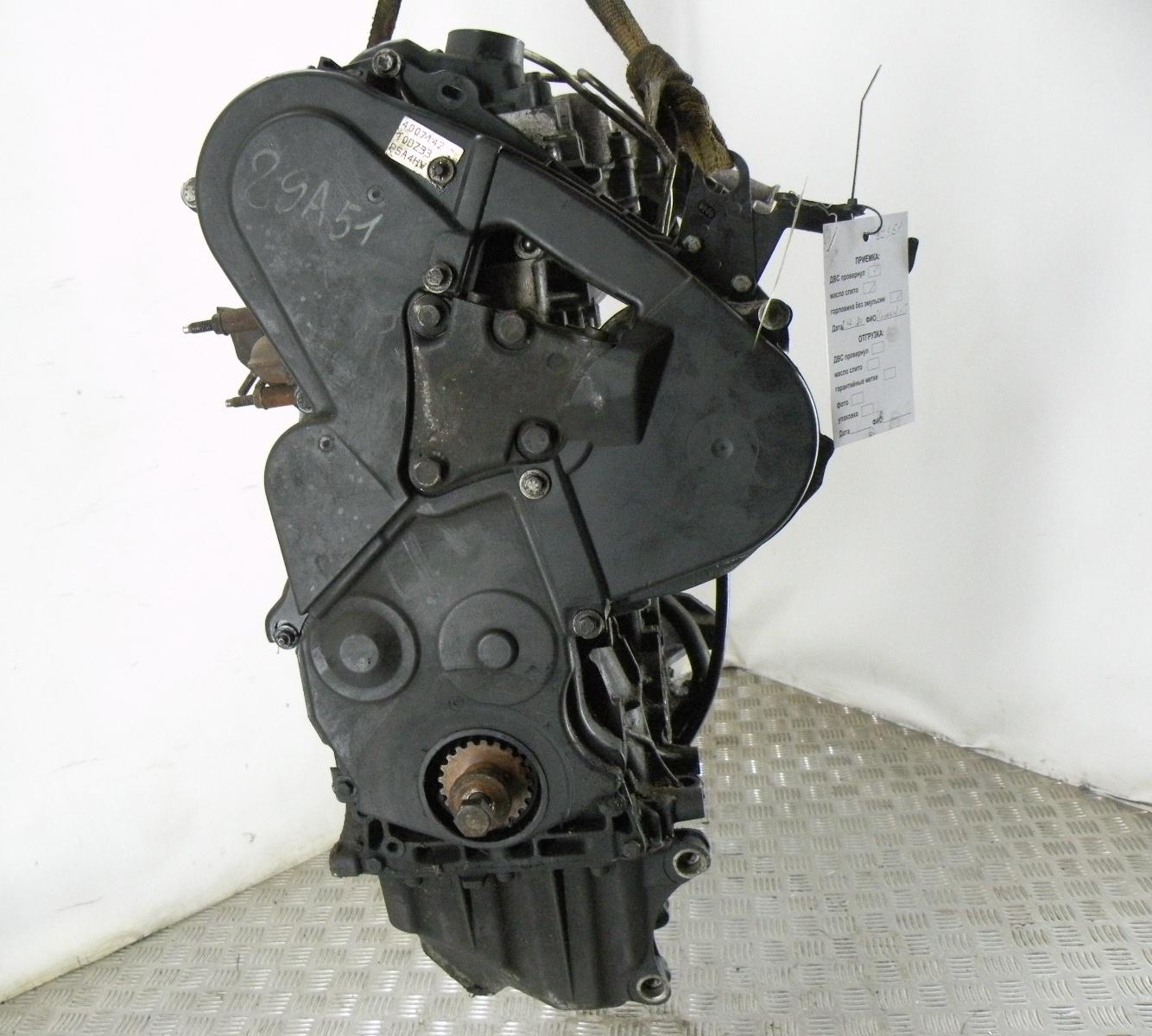 Двигатель дизельный, PEUGEOT, 807, 2003