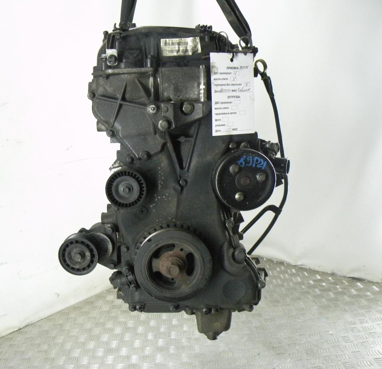 Двигатель бензиновый, FORD, MONDEO 4, 2007