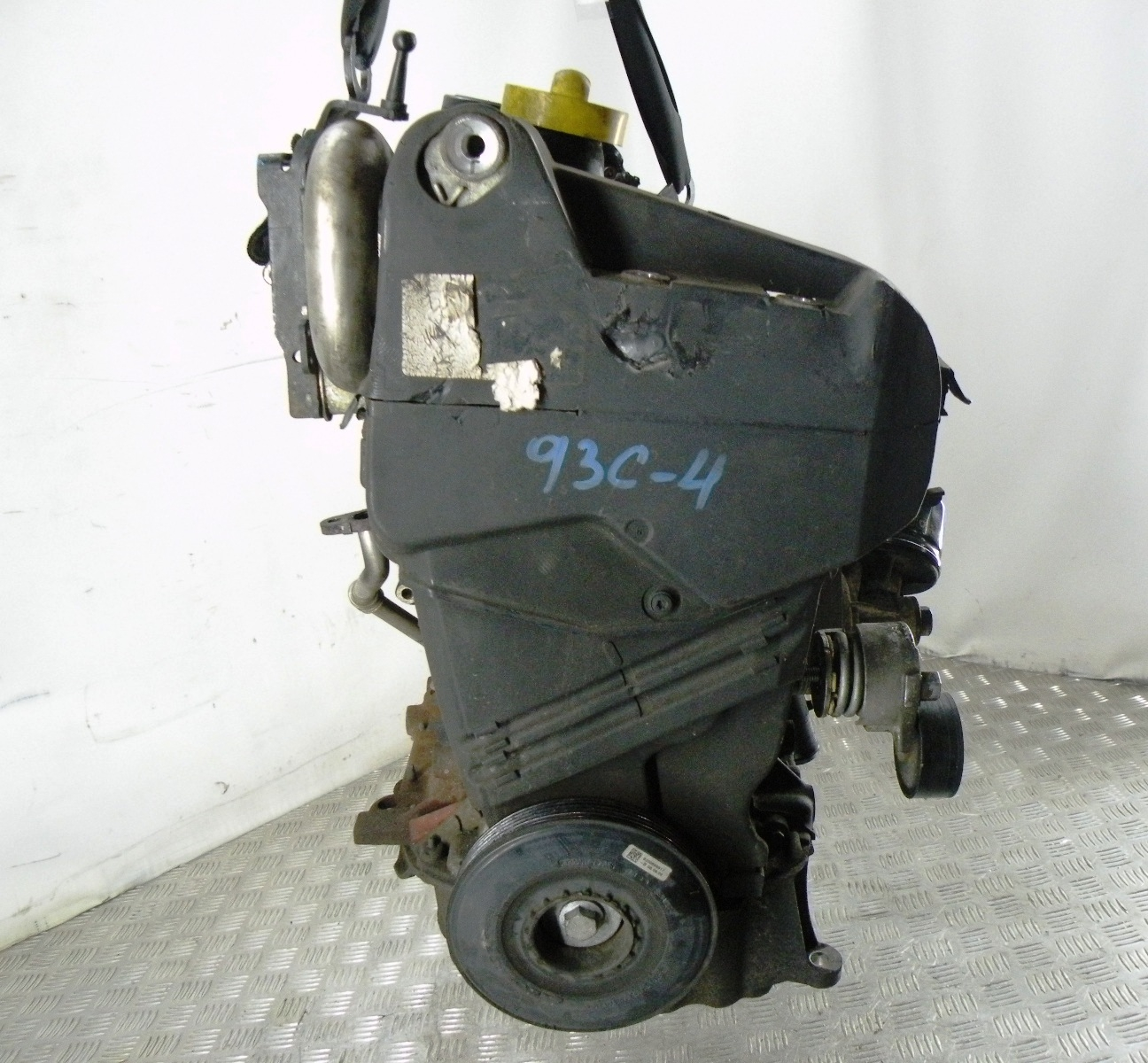 Двигатель дизельный, RENAULT, SCENIC 3, 2010