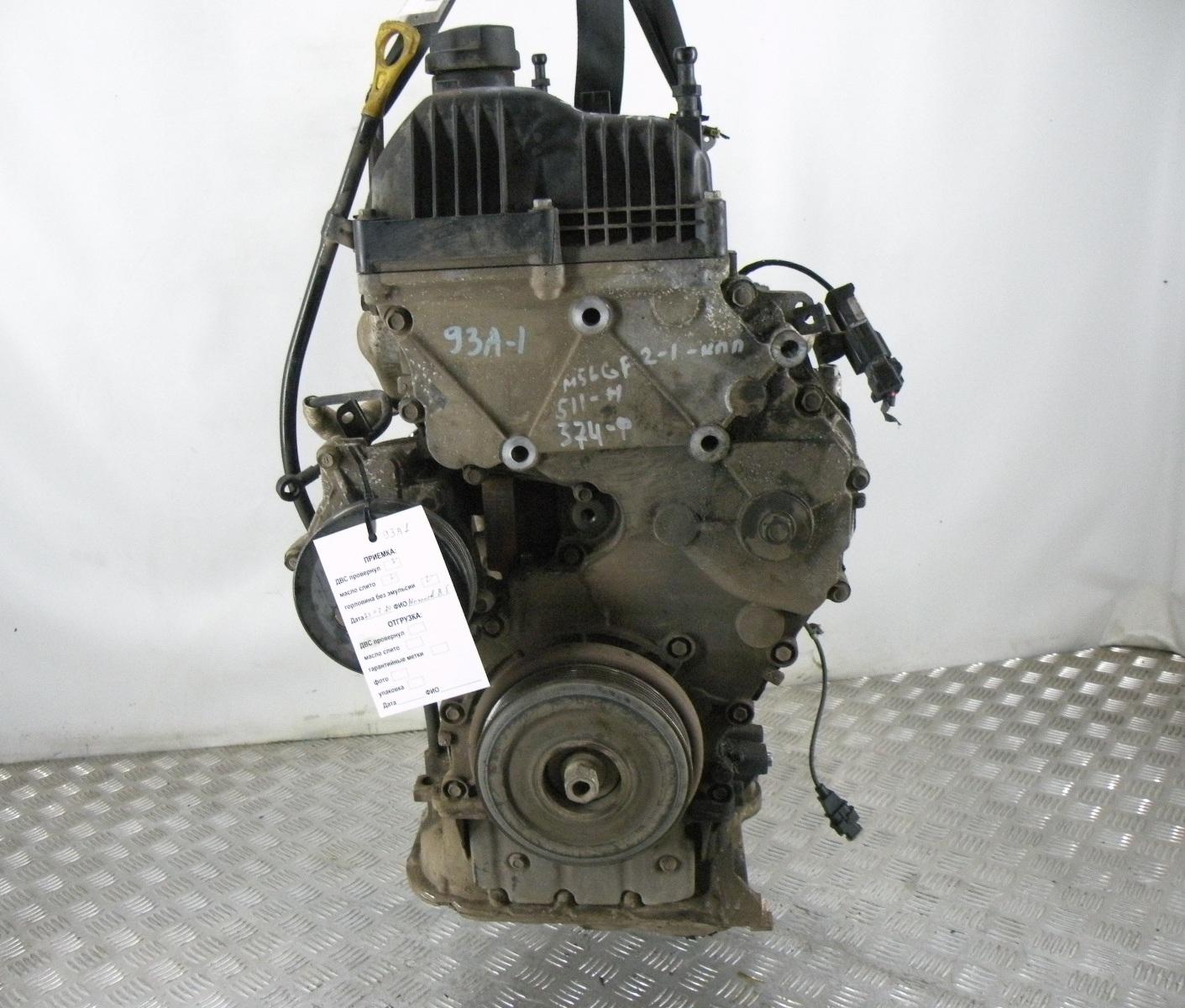 Двигатель дизельный, KIA, SPORTAGE 3, 2012