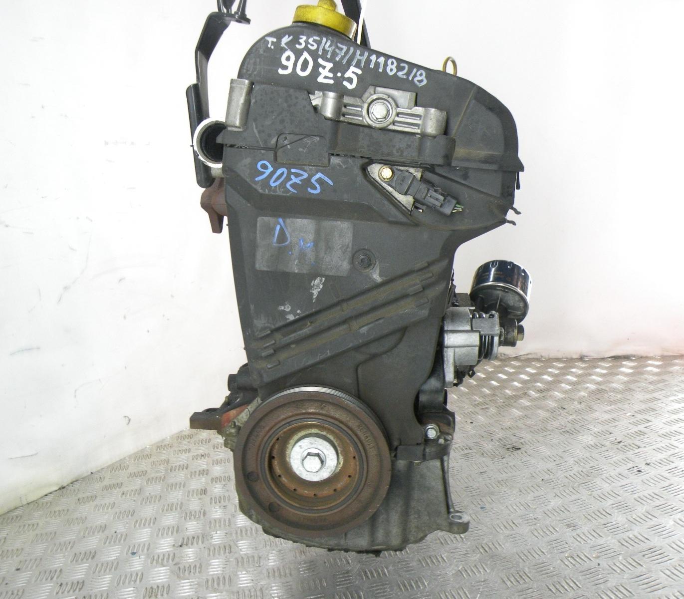 Двигатель дизельный, RENAULT, MEGANE 2, 2004