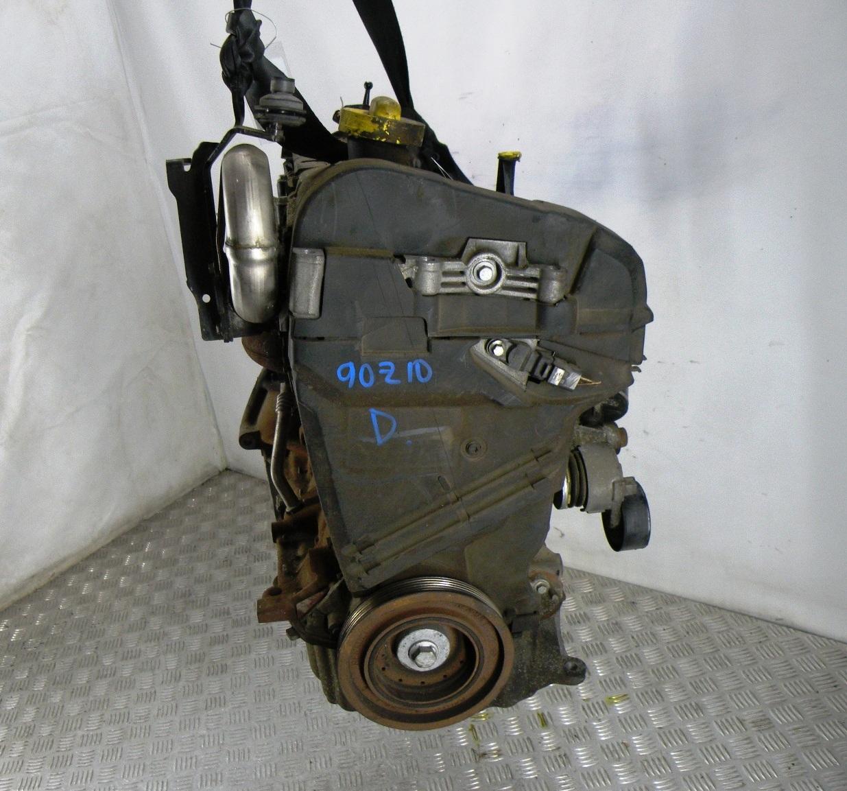 Двигатель дизельный, RENAULT, SCENIC 2, 2007
