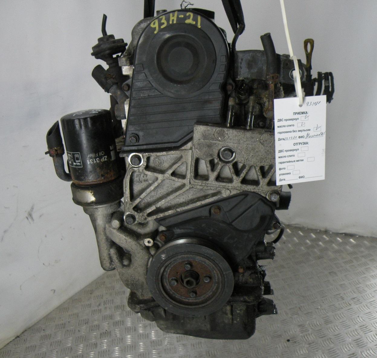 Двигатель дизельный, HYUNDAI, SANTA FE 1, 2005