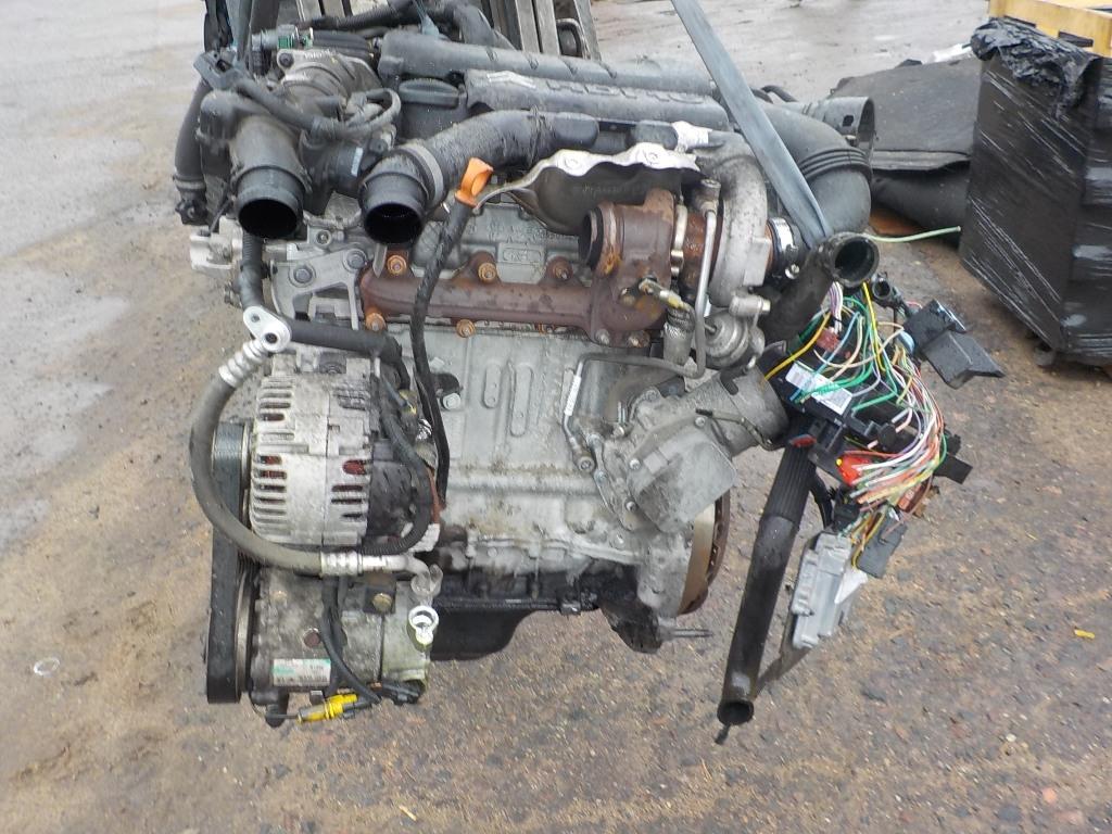Двигатель дизельный, CITROEN, C4 1, 2007