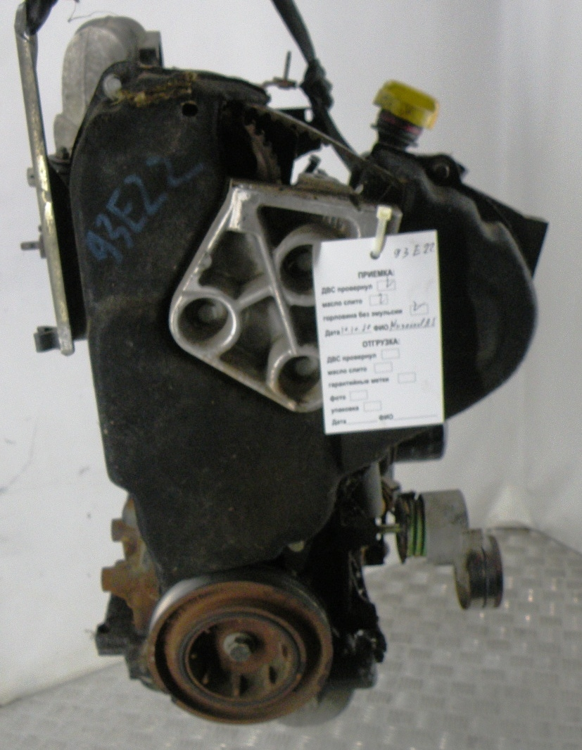 Двигатель дизельный, OPEL, VIVARO, 2002