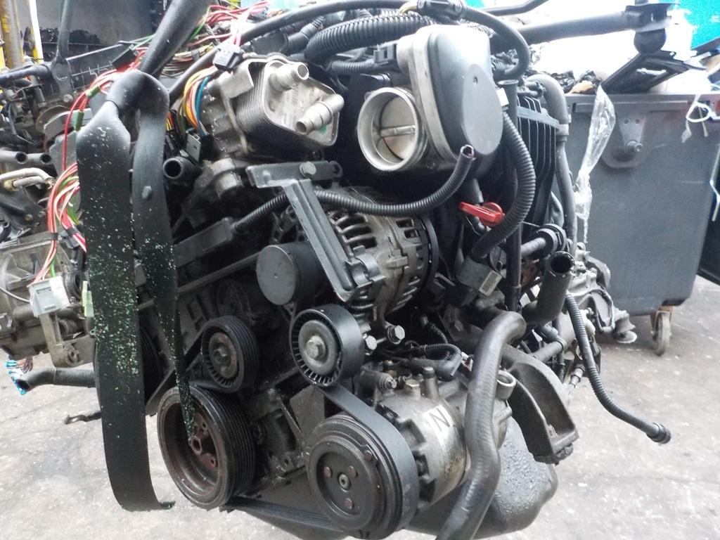 Двигатель бензиновый, BMW, 3 E46, 2002