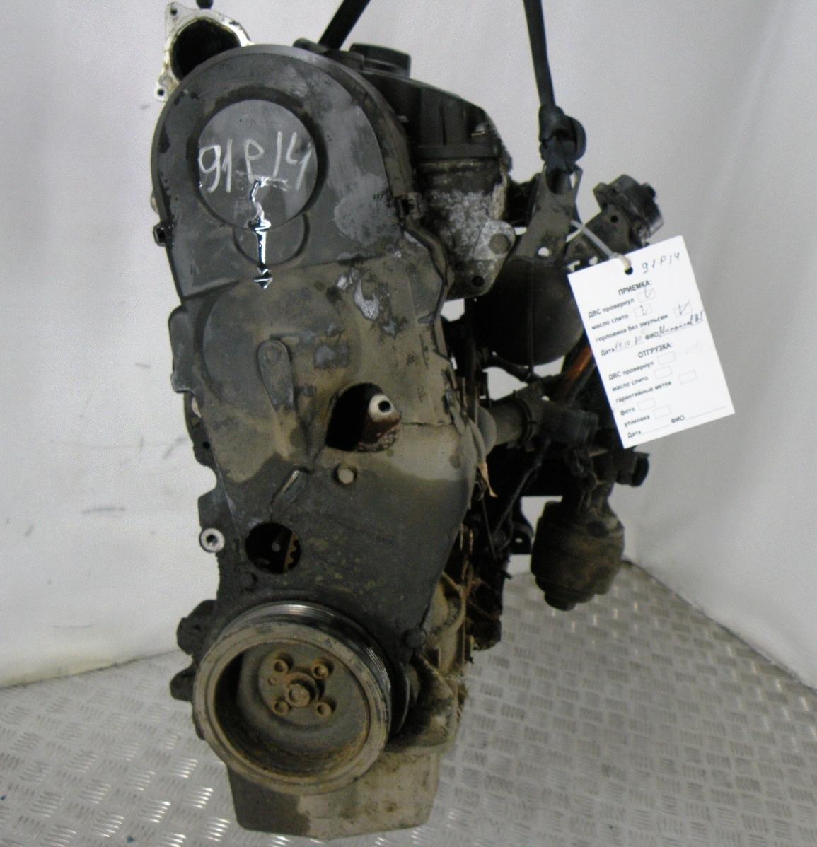 Двигатель дизельный, SKODA, OCTAVIA A4, 2008